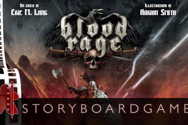 Storyboardgame – Blood Rage