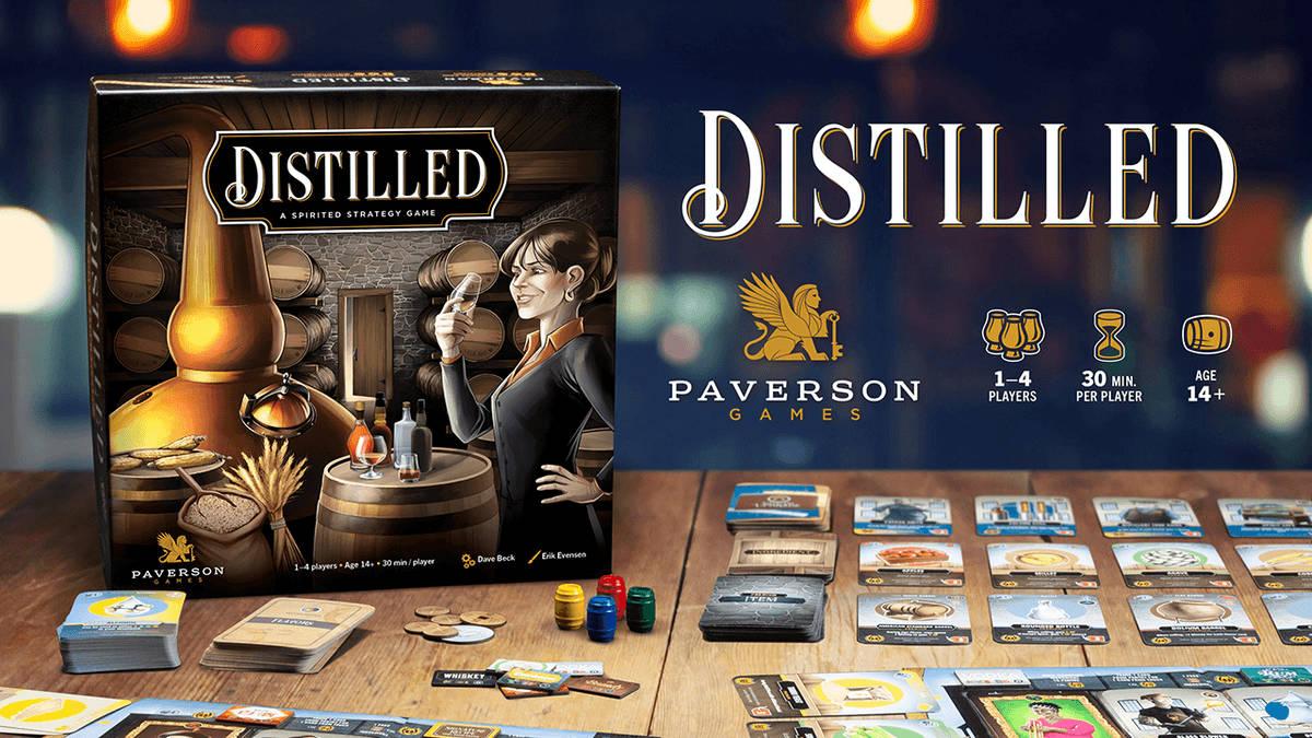 Anteprima – Distilled su Kickstarter, 5 giorni alla fine della campagna.