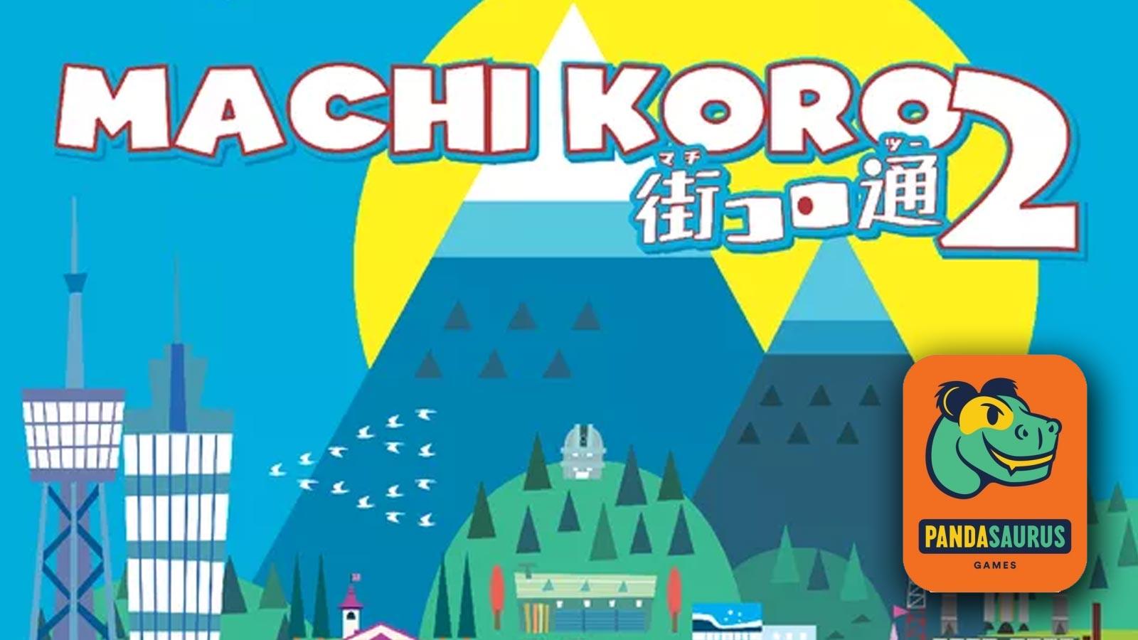 Pandasaurus annuncia Machi Koro 2