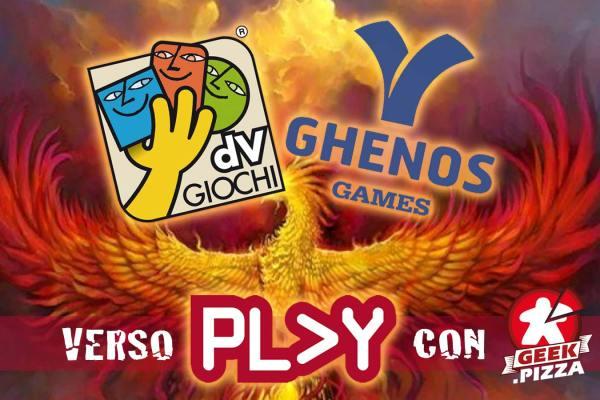 Verso Play 2021 – dV Giochi e Ghenos Games