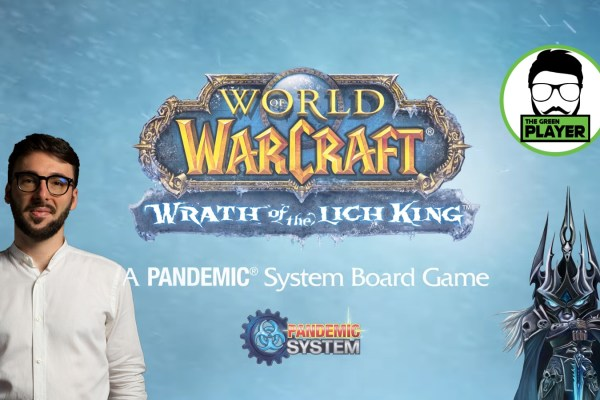 The Green Player presenta WORLD OF WARCRAFT: Wrath of the Lich King (a PANDEMIC game)