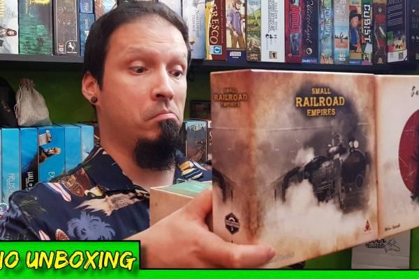 Small Samurai Empires & Small Railroad Empires – Unboxing