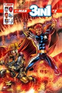G-Man Comics 3 en 1 # 2 - variante portada - Pontik® Radio