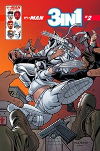 G-Man Comics 3 en 1 # 2 - variante portada a - Pontik® Radio