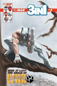 G-Man Comics 3 en 1 # 2 - variante portada b - Pontik® Radio