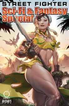 Cover #1 A con Chun-Li Street Fighter