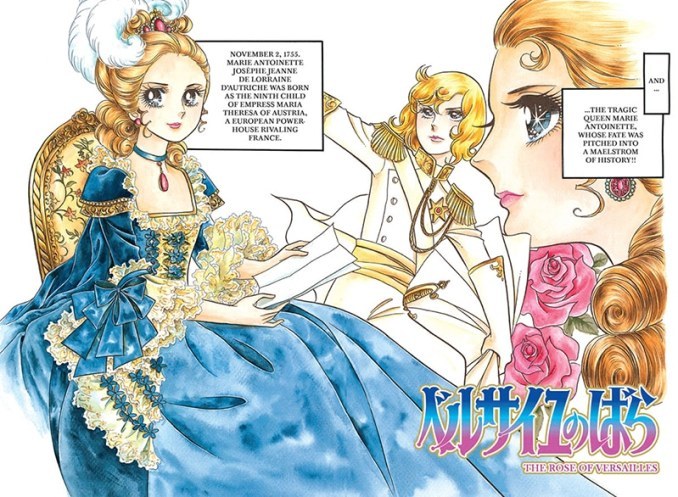 serie Great Manga - The Rose of Versailles - Pontik Geek
