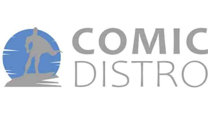 Comic Distro - logo - Pontik® Geek - Comics