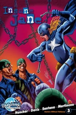 Insane Jane Doctors Without Patience- Comic Distro - Pontik® Geek