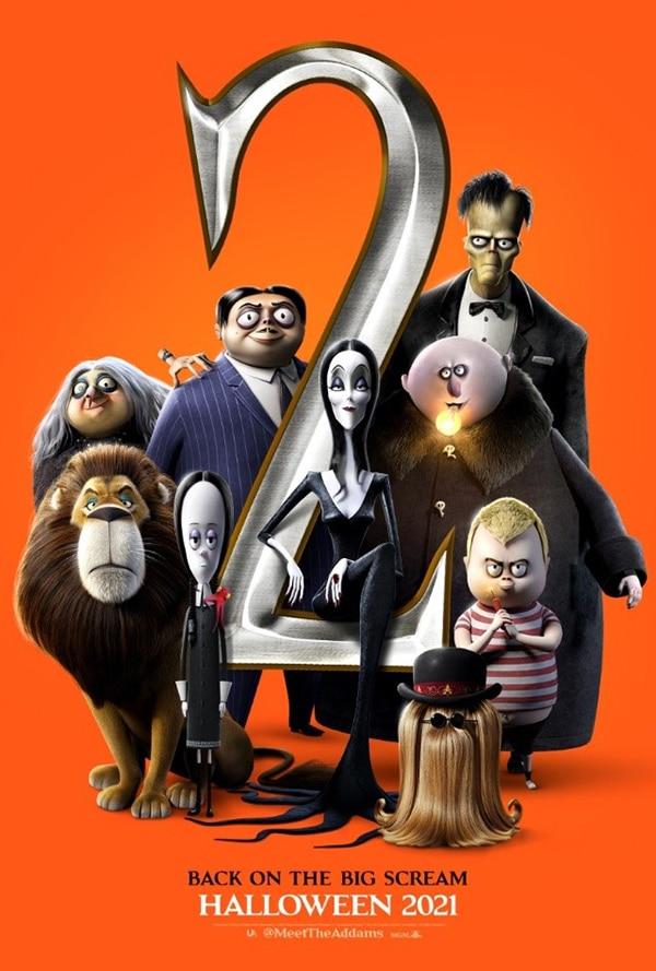 Los Locos Addams 2 La Gran Escapada - poster - Pontik® Geek