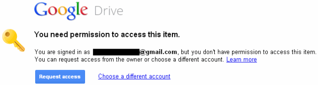 permission management google drive attachment