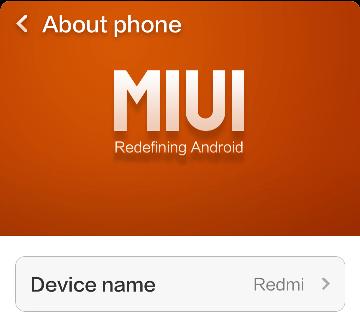 Update Redmi 1S Manually Geekact
