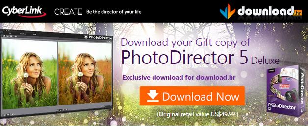 Free CyberLink PhotoDirector 5 Deluxe Full