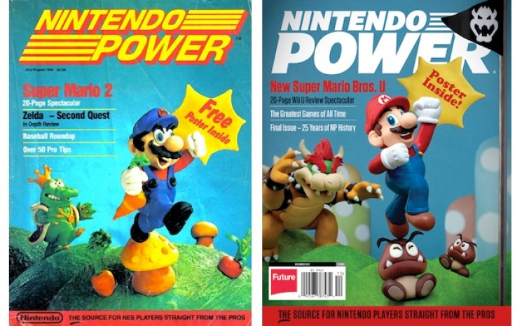 The first and last issues of one of the best video game publications of all time.