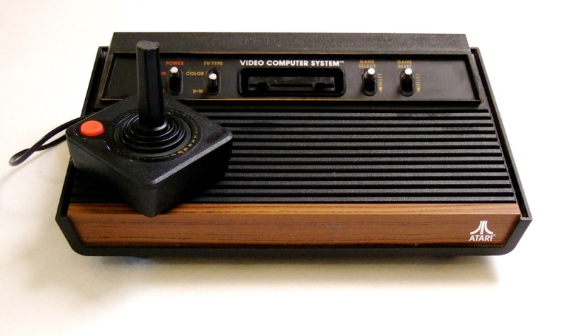 The titular Atari 2600