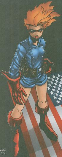 Picking Captain America's sidekick for July was not a coincidence. Either I'm very clever, or very lame. Definitely one of those things.