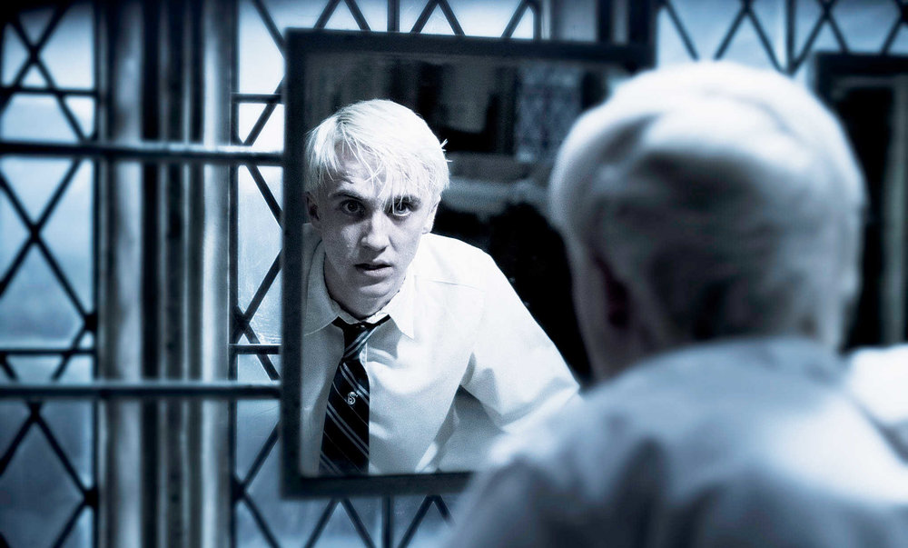 It takes a lot for me to say poor Malfoy, but...poor Malfoy.