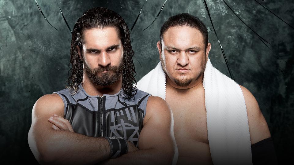 Seth Rollins vs Samoa Joe