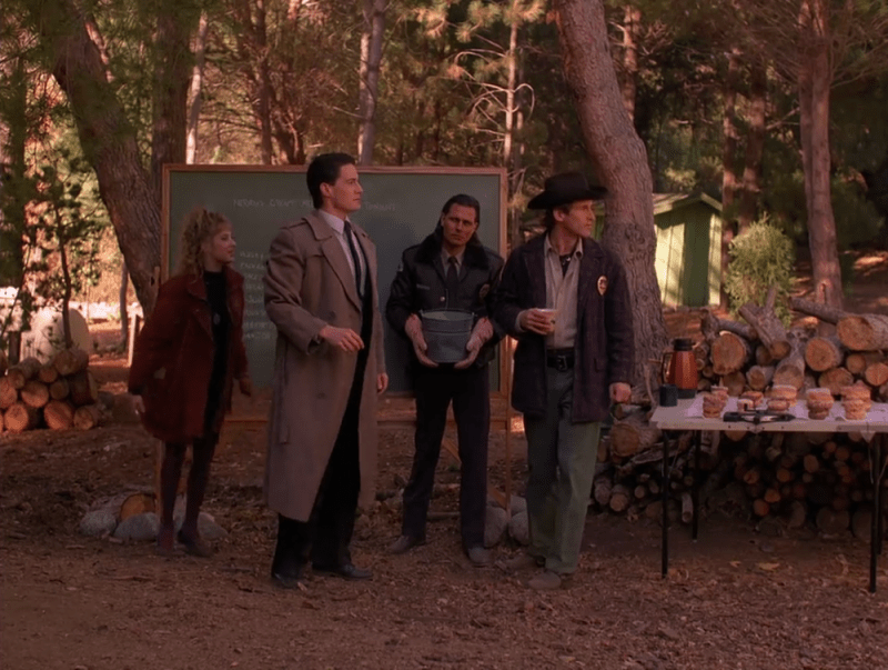 Hawk (Michael Horse) should have won an Emmy for that side-eye.