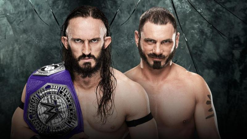 Neville vs Austin Aries - Cruiserweight Championship