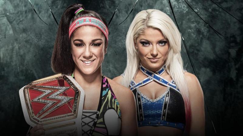 Bayley vs Alexa Bliss - Raw Women's Championship