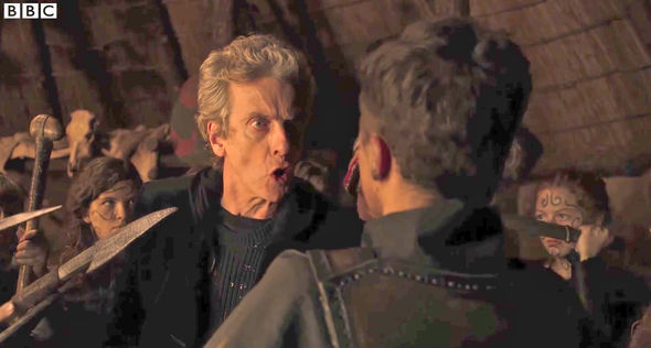 Nobody yells at the people threatening him like the Doctor does