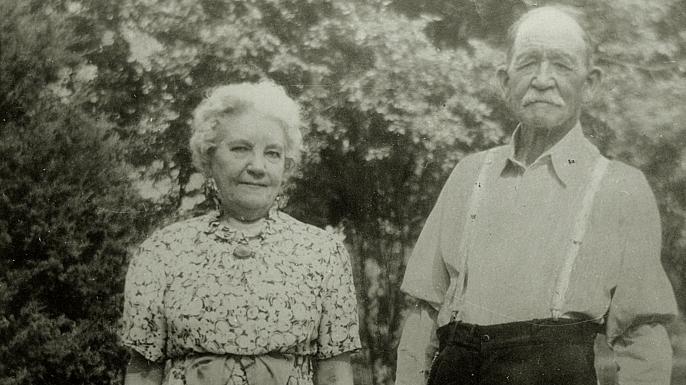 Laura Ingalls Wilder and Almanzo Wilder