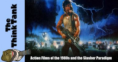 Action Films of the 1980s and The Slasher Paradigm