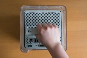 Power Mac G4 Cube Handle