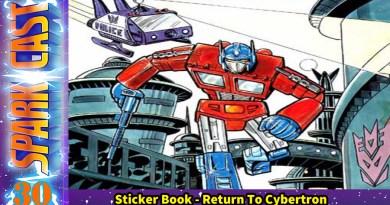 Sparkcast 030 – Return To Cybertron Sticker Book