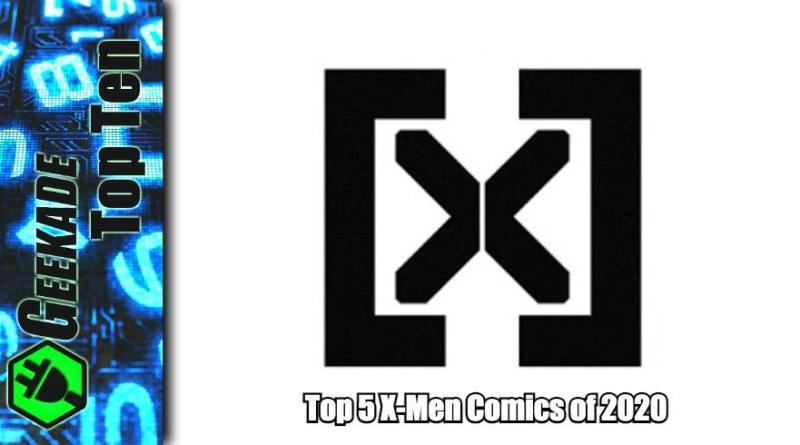 Top 5 X-Men Comics of 2020 Feature Image (New X Logo)