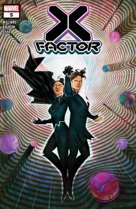X-Factor #5 Cover Art by Ivan Shavrin