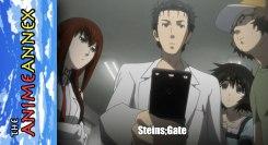 Anime Annex Steins;Gate Featured