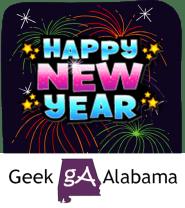 Geek Alabama New Year