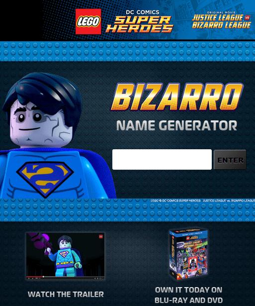 Lego Bizarro League Minifigures