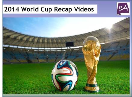 Two Great Video Recaps Of The 2014 World Cup