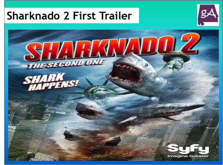See The Classic Sharknado 2: The Second One Full Trailer