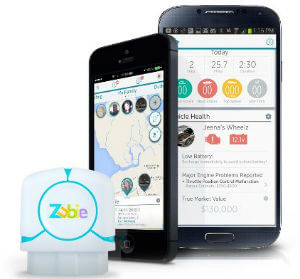 Zubie ZK30012M GPS tracker for Teen Drivers and Families
