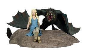 Daenerys and Drogon Statue