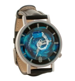 Doctor Who Tardis Whovian Gear Unisex Analog Water Resistant Novelty Gift Watch
