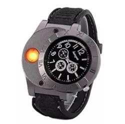 Findtime Men Digital USB Lighter Watch