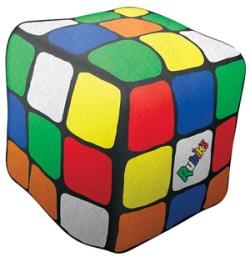Rubik's Cube Shaped Microbead Pillow
