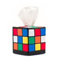 Rubik's Cube Tissue Caddy