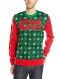 Star Wars Men's Argyle War Sweater