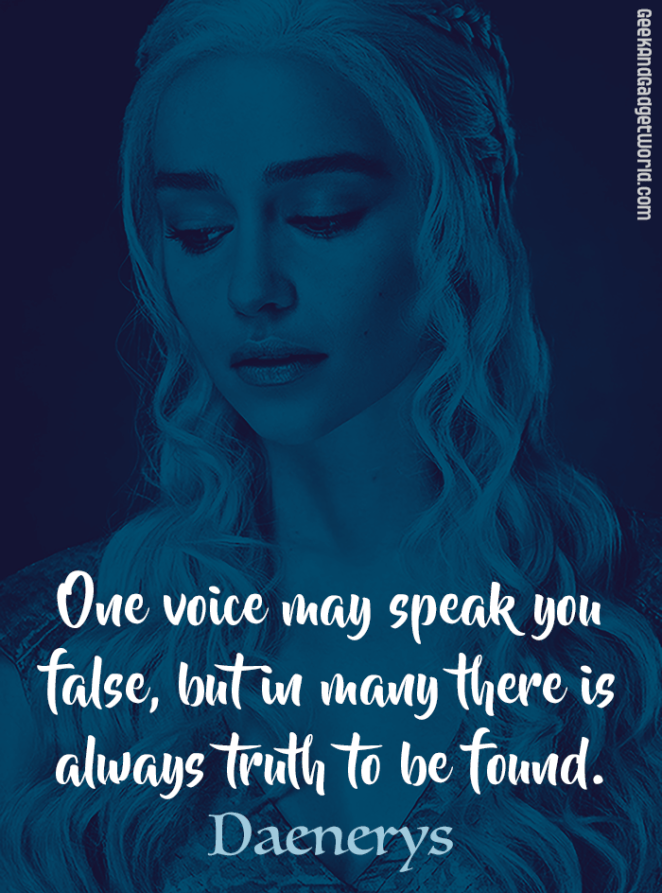Daenerys Game of Thrones Quote