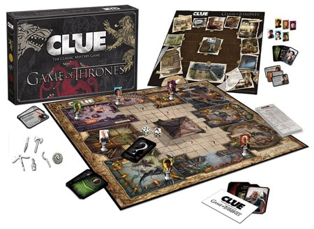 2 CLUE Game Of Thrones Board Game