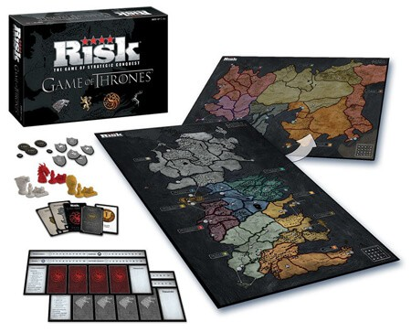 4 Risk Game Of Thrones Board Game