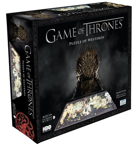 8 4D Cityscape Game Of Thrones Westeros Puzzle