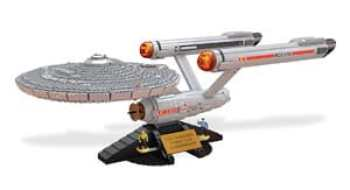 Mega Bloks Star Trek U.S.S. Enterprise NCC 1701 Collector Construction Set