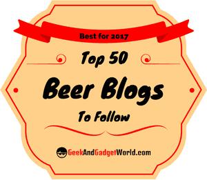 Top 50 Beer Blogs 2017